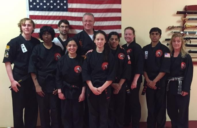 Students in Our Self-Defense Class in Burlington, MA